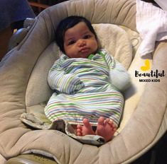 Kingston - 6 Weeks • African American, Caucasian & Puerto Rican    FOLLOW @BEAUTIFULMIXEDKIDS  http://instagram.com/beautifulmixedkids
