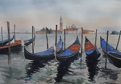 watercolor...ma non solo: Venezia con dolcezza