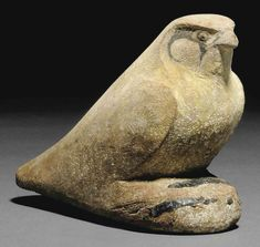 AN EGYPTIAN PAINTED WOOD FALCON | LATE PERIOD-PTOLEMAIC PERIOD, CIRCA 4TH-2ND CENTURY B.C. | 3rd Century B.C., 4th Century B.C. | Christie's Ancient Egypt Animals, Ancient Egypt History, Ancient Art, Ancient Greece, Egyptian Art, Egyptian Beauty, Bird Sculpture, Animals Images, Painting On Wood