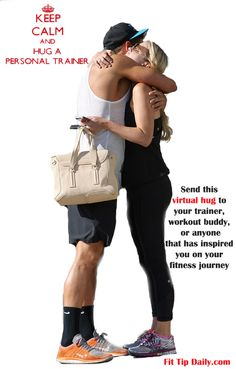It occurred to me after a session with a client today that we (as fitness professionals), are more then just trainers. We love and care for our clients and sometimes a hug can be the greatest gift you can give them in those short 60 minutes.  Send this virtual thank you to those who have helped you stay motivated through out your life. There can never be enough hugs in the world!  ‪#‎personaltrainer‬ ‪‪#‎fitfam‬ ‪#‎fitness‬ ‪#‎exercise