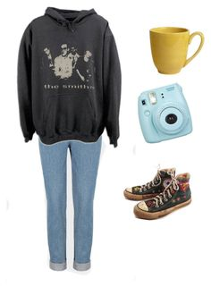 """""""Untitled #12"""" by fairielana ❤ liked on Polyvore featuring Pier 1 Imports, Fujifilm and Converse"""