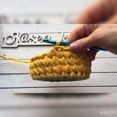 Марина ПавлодарさんはInstagramを利用しています:「➰Ещё один узор подойдёт для вязания корзин, ковров... ➰Отлично держит форму ➰Название не знаю ♀️ ➰Пряжу кушает хорошо 」