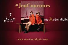 JACADI x Ma Sérendipité |  #JeuConcours Tentez votre chance pour gagner un bon d'achat #Jacadi sur notre site www.ma-serendipite.com ! Bonne chance à tous ! #giveaway #shopping