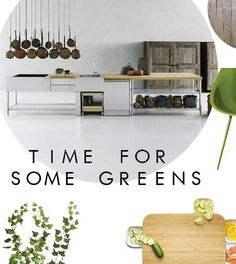 Ideas for a natural kitchen.
