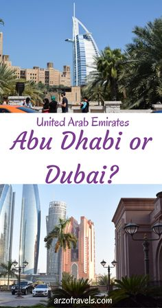 Abu Dhabi or Dubai? Find out which city is the better chice for your next holidays. UAE.