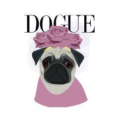 Hug a Pug on Behance Dogue