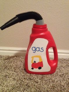 cozy coupe gas can.  how cute!!!