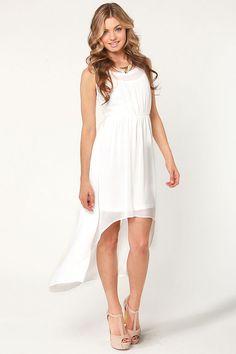 Beautiful Beaded Dress - Ivory Dress