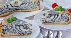 Recept na lahodný tvarohový koláč s makom. No Salt Recipes, Baking Recipes, Sweet Recipes, Ukrainian Recipes, Russian Recipes, Delicious Cake Recipes, Dessert Recipes, Czech Recipes, Sweet Pastries