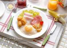 Breakfast - Petite Maison*のミニチュア&ドールハウス