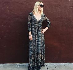 always in fashion: printed maxi dresses