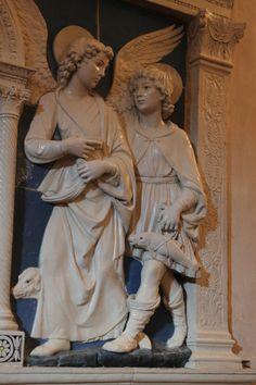Andrea della Robbia: Tobias and the Angel, Rafael