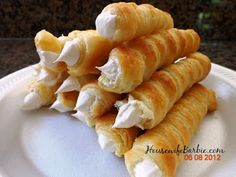 An American Housewife: Cream Horns - Easier than you may think!