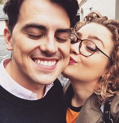 Carrie and Oliver Carrie Hope Fletcher, Carry On, Youtubers, Actors & Actresses, Musicals, Couple Photos, My Love, People, Instagram
