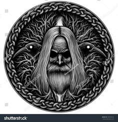 Odin. His Ravens.