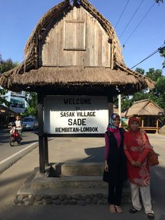Sade Village is located in Lombok, Indonesia It has an unique cultural that you cant find in other village