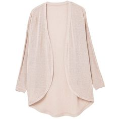 MANGO Metal thread cardigan (15.550 CLP) ❤ liked on Polyvore featuring tops, cardigans, pink cardigan, cardigan top, pink top, metal top and mango tops
