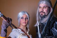 Geralt of Rivia and Cirilla @ MondoCon