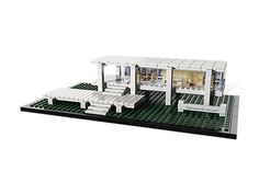 New self-indulgence on the horizon: Lego Farnsworth House by Mies van der Rohe.