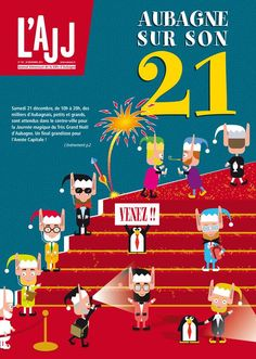 L'AJJ: Aubagne sur son 21. Publié le 18/12/13. aubagne. Bouches-du-Rhone.