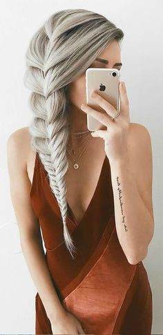 Great ash hair coloring for greying roots