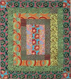 BEYOND THE BORDER from Kaffe Fassett Quilts en Provence