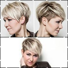 My favorite cut but with my natural brown and gray with silver hairstyles Short Grey Hair Brown Cut favorite Gray Hairstyles natural Silver Thin Hair Cuts, Short Hair Cuts For Women, Blonde Pixie Cuts, Short Grey Hair, Short Layered Haircuts, Corte Y Color, Short Hair Styles Easy, Soft Hair, Pixies