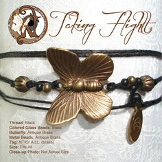 "Never Take It Off — ""Taking Flight"" NTIO Bracelet - LIMITED EDITION"