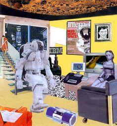 Updated Richard Hamilton collage (Dovetail Court 2000)