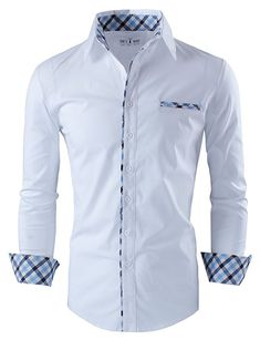 Dress Shirts Self-Conscious Fashion One Button Mens Designer Solid Color Cotton Stand Collar Slim Camisa Men Tops Male Casual Shirt Long Sleeve