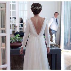 Laura estaba espectacular, eSperamos verte pronto por aquí!! Un placer haber compartido buenos momentos contigo con tu sonrisa infinita!! #inuñez #inuñezfashion #fashion #fashiondesign #details #detalles #bride #bridal #details #detalles #beauty #style foto: @mariadphoto.es