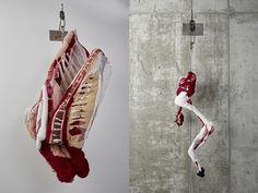 Textile Meat - Beautiful Food Art by Tamara Kostianovsky