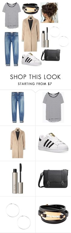"""""""Everyday minimalist"""" by hapastyle03 ❤ liked on Polyvore featuring Frame, Zara, mel, adidas, Ilia, MANGO and McQ by Alexander McQueen"""