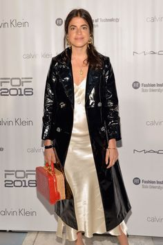 Leandra Medine at the 2016 Future of Fashion Runway Show at The Fashion Institute of Technology. Photo: Slaven Vlasic/Getty Images