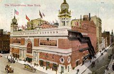 The Hippodrome Theatre, New York; built 1904-05, demolished 1939