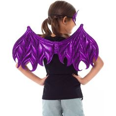 Little Adventures Child's Dragon Wing & Mask Set : Target Dragon Claw, Dragon Wing, Donkey And Dragon, Dragon Costume, Metallic Pink, Costume Dress, Pink Purple, Wings, Dress Up