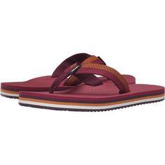 Teva Deckers Flip (Ladder Grape Wine) Women's Sandals