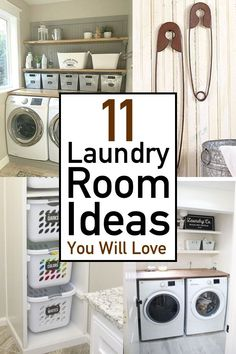 Looking for laundry room ideas that will make a huge impact? Check out this extensive collection of laundry room inspiration, filled with small laundry room organization ideas as well as loads of laundry room decor ideas. Laundry Room Doors, Laundry Room Remodel, Farmhouse Laundry Room, Laundry Closet, Small Laundry Rooms, Laundry Room Storage, Laundry Room Design, Laundry Detergent Storage, Small Room Organization
