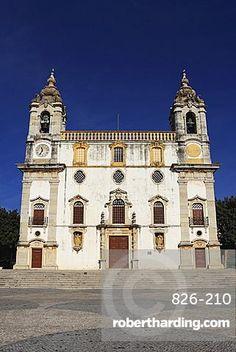 The Church of Our Lady of Carmo (Ingreja de Nossa Senhora do Carmo), Portuguese Baroque (Talha Dourada) in style, in Faro, Algarve, Portugal, Europe