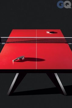 Designer Ping Pong Table - Ideas on Foter Tennis Wallpaper, Custom Pool Tables, Ping Pong Table Tennis, Geometric Wall, Furniture Styles, Outdoor Projects, Game Room, A Table, Cool Designs