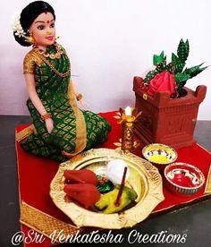 Pretty Dolls, Cute Dolls, Festival Decorations, Wedding Decorations, Sri Rama, Wedding Gift Wrapping, Wedding Doll, Indian Dolls, Cute Krishna
