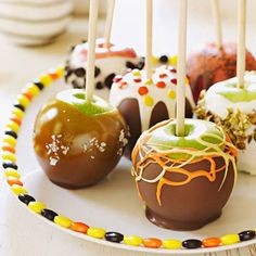 Delicious Candy Apples
