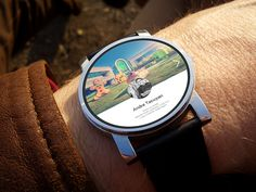 Android Wear Google+ Profile