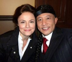 Myself and the amazing Russell Yuen from last night's episode! #MurdochMysteries