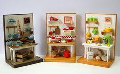 2018.03 Miniature Kitchens Dollhouse ♡ ♡ By TYA Kitchen