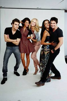 Ohh I can't believe I watch it but I do- vampire diaries