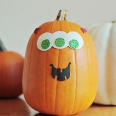 Our family's favorite way to let the toddlers in on the Jack-O-Lantern Fun.