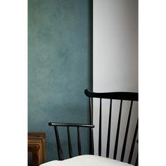KABE er indfarvet spartel i smukke farver • Med KABE fås et unikt look og en levende overflade, som ikke opnås ved traditionel maling