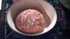 No Knead Easy Rye Bread Baked In A Pot Recipe | The Trophy Wife Says Best Bread Ever! - DayParentDad.com