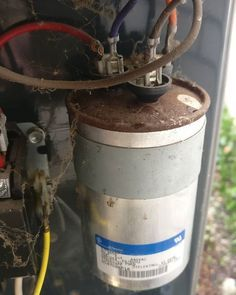 It S A Photo Of An Bad Capacitor On An Ac Condenser I Love